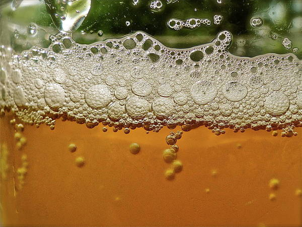 Alcohol Photograph - Beer Foam by Lynn.h.armstrong Photography