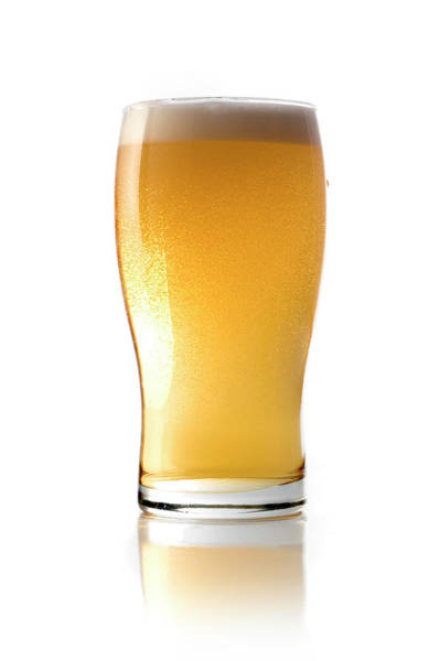 Lager Photograph - Beer Glass by Carlosalvarez