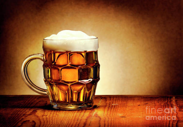Wall Art - Photograph - Beer by Jelena Jovanovic