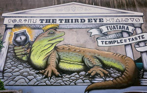 Photograph - Beer Mural New Zealand by Joan Carroll