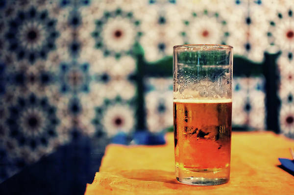 Beer Photograph - Beer On Table by By Carlos Cossio