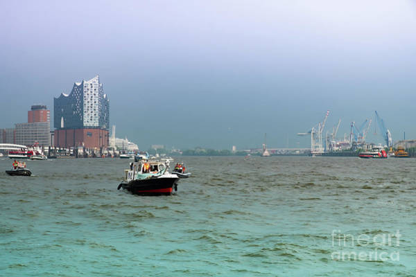 Photograph - Befor The Storm On The Elbe by Marina Usmanskaya