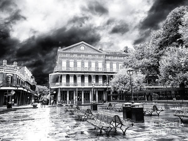 Wall Art - Photograph - Before The Crowds At Jackson Square New Orleans by John Rizzuto