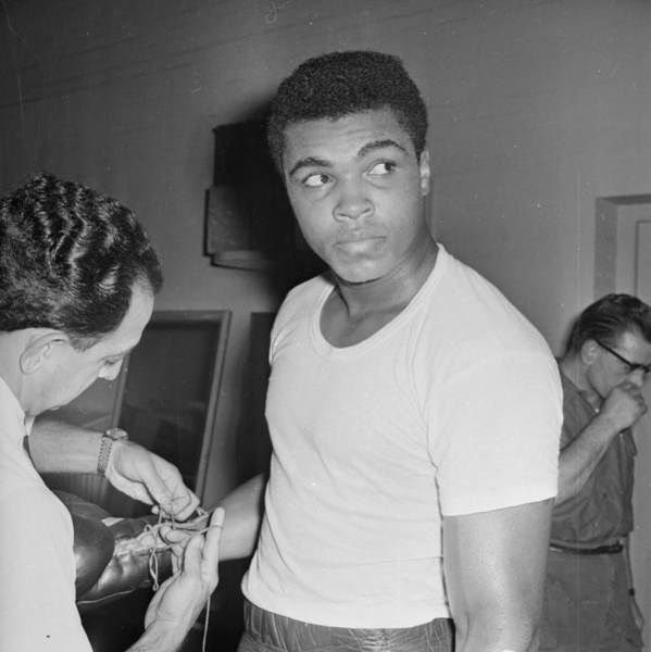 Muhammad Ali Photograph - Before The Fight by Norman Quicke