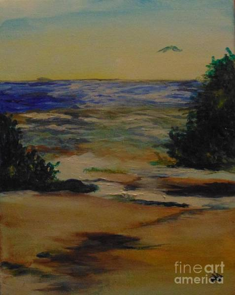 Wall Art - Painting - Before The Fog by Saundra Johnson