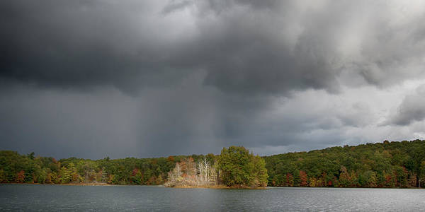 Photograph - Before The Storm Hall Lake by Rick Veldman