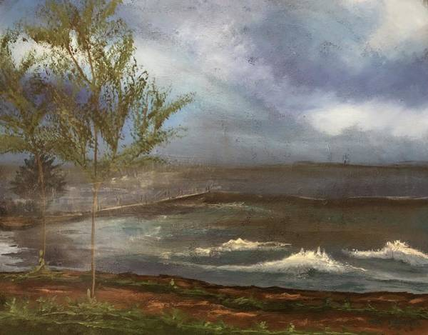 Painting - Before The Storm by Mary Rimmell