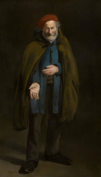 Wall Art - Painting - Beggar With A Duffle Coat by Edouard Manet