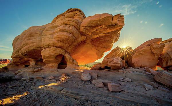 Photograph - Behemoth At Sunrise by Rikk Flohr