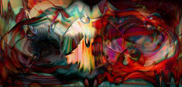 Wall Art - Digital Art - Behind Our Bubble by Linda Sannuti