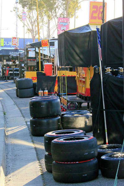 Wall Art - Photograph - Behind Pit Lane by Shoal Hollingsworth