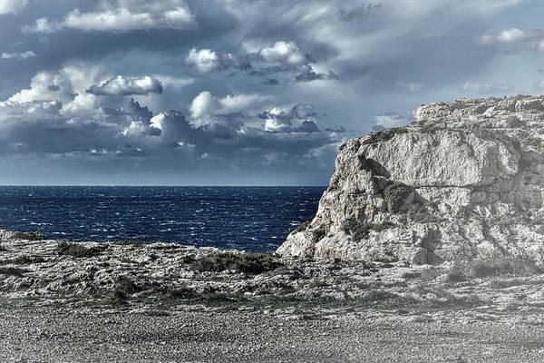 Wall Art - Photograph - Behind The Cliffs The Deep Blue Sea by Rabiri Us
