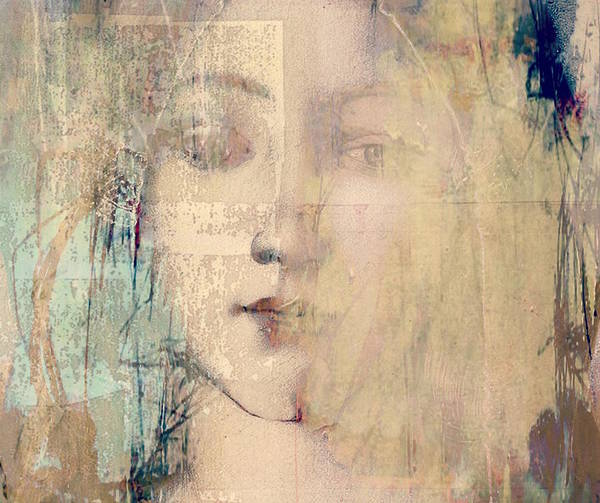 Wall Art - Mixed Media - Behind The Painted Smile  by Paul Lovering