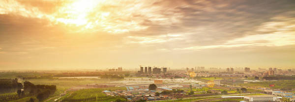 Wall Art - Photograph - Beijing Cityscape Panorama by Czqs2000 / Sts