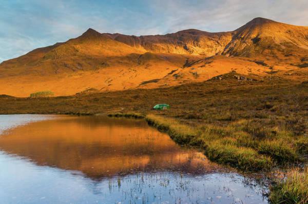 Beinn Eighe Photograph - Beinn Eigh, Glen Torridon by David Ross