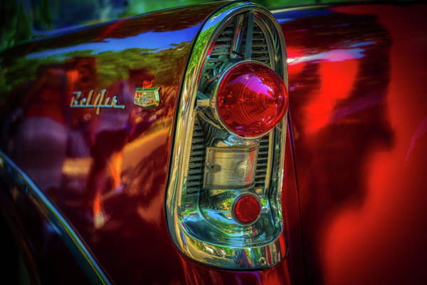 Wall Art - Photograph - Bel Air Tail Fin by Pixabay