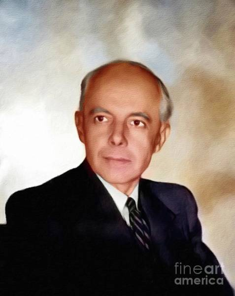 Wall Art - Painting - Bela Bartok, Music Legend by John Springfield