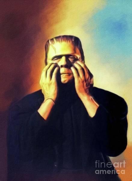 Frankenstein Painting - Bela Lugosi As Frankenstein by John Springfield