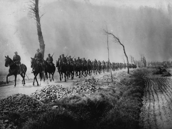 Belgian Culture Photograph - Belgian Cavalry by Hulton Archive