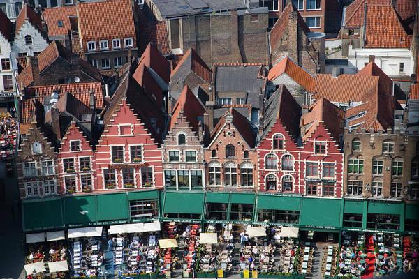Belgium Photograph - Belgium, Flanders, Bruges, The Market by Darrell Gulin