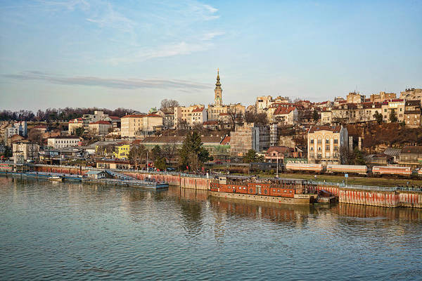 Photograph - Belgrade Cityscape by Milan Ljubisavljevic
