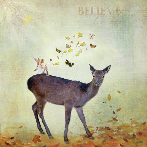 Digital Art - Believe by Sue Collura