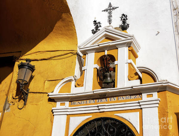 Photograph - Bell At The Postigo Del Aceite In Seville by John Rizzuto