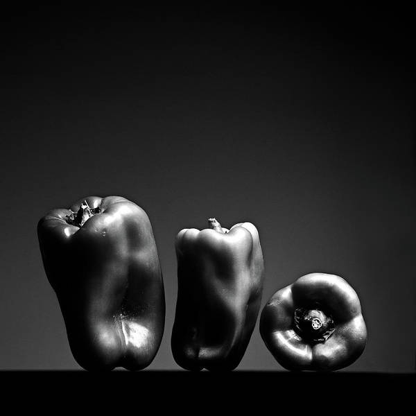 Side-by-side Photograph - Bell Peppers by Eddie O'bryan