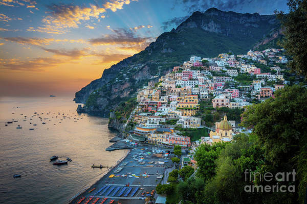 Wall Art - Photograph - Bella Positano by Inge Johnsson