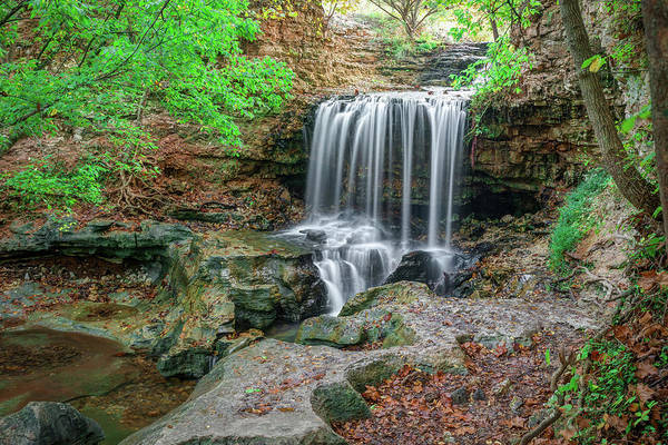 Wall Art - Photograph - Bella Vista Arkansas Tanyard Falls by Gregory Ballos
