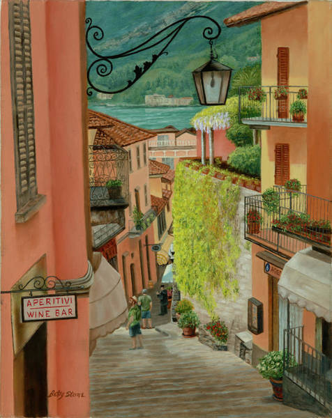 Painting - Bellagio by Alice Betsy Stone