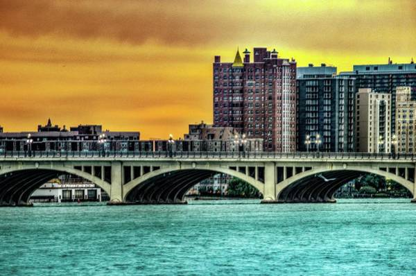 Photograph - Belle Isle Bridge Dsc_0871 by Michael Thomas