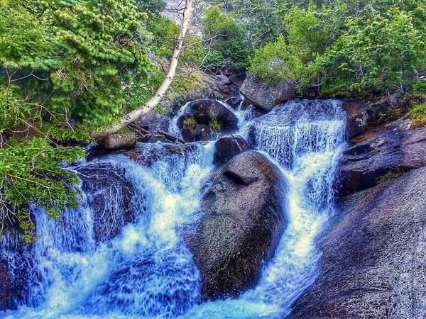 Photograph - Bells Canyon Waterfall by Dan Miller
