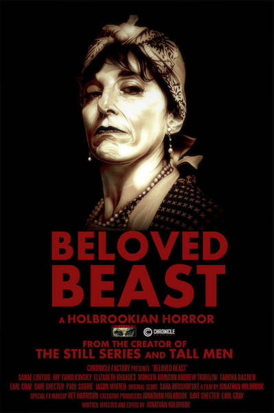 Drawing - Beloved Beast Iva Treadwell by Fred Larucci