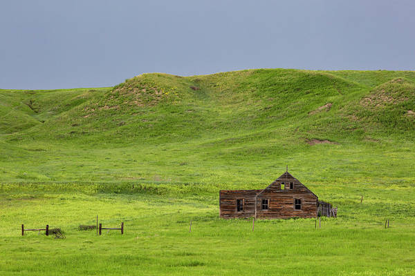 Photograph - Below A Hill by Denise Bush