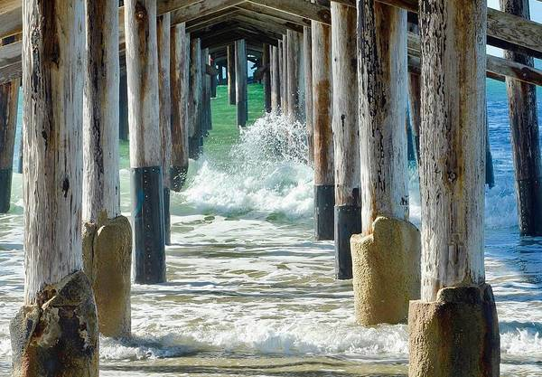 Photograph - Below The Pier by Brian Eberly