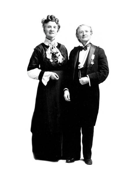 Wall Art - Photograph - Belva Lockwood And Mary Walker, 1912 by Science Source