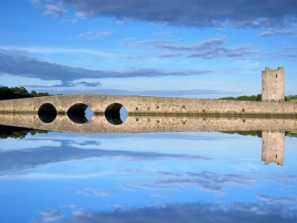 Belvelly Castle Reflection Art Print
