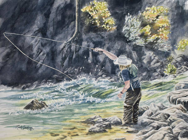 West Fork Painting - Ben by Link Jackson