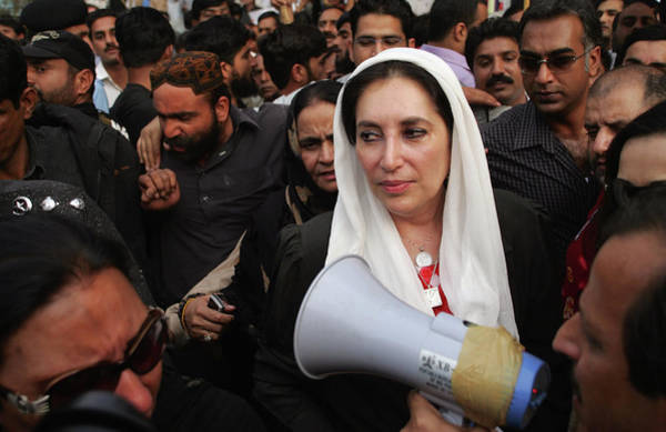 Photograph - Benazir Bhutto Released From House by John Moore