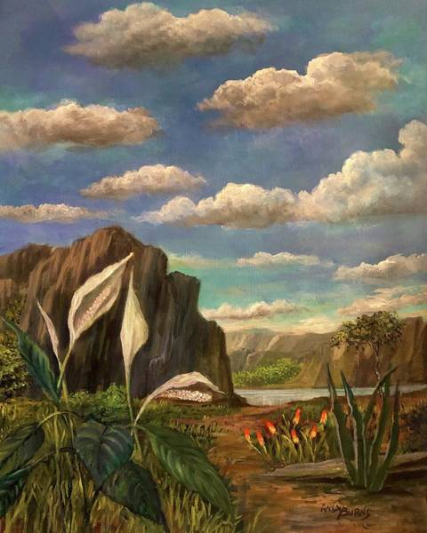 Painting - Beneath The Clouds Of Africa by Randy Burns