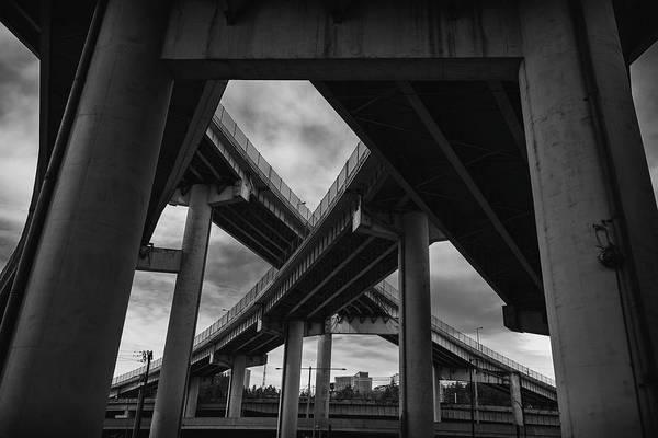 Photograph - Beneath The Overpass by Steven Clark