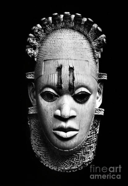 Wall Art - Photograph - Benin Ivory Mask by Granger