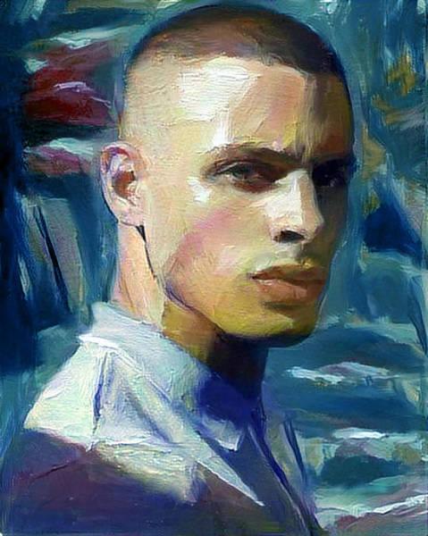 Digital Art - Benito by Richard Laeton