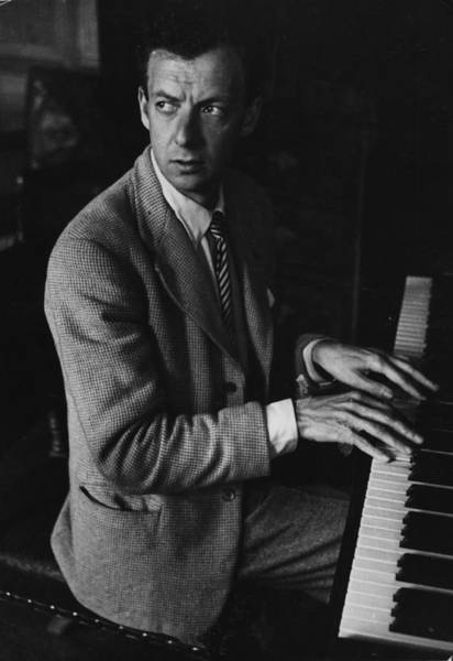 Photograph - Benjamin Britten by Hulton Archive