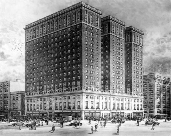 Photograph - Benjamin Franklin Hotel by James Dillon