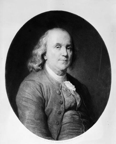 18th Century Digital Art - Benjamin Franklin by Hulton Archive