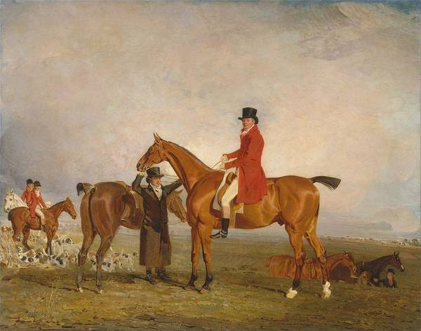 Wall Art - Painting - Benjamin Marshall - George, Marquess Of Huntly by Celestial Images