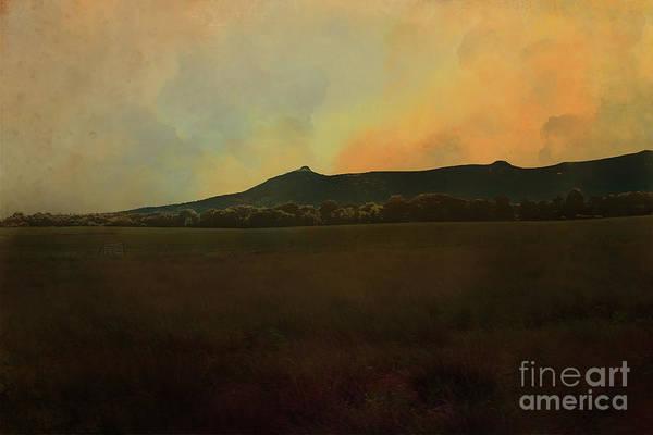 Photograph - Bennachie, Autumn Light by Liz Alderdice