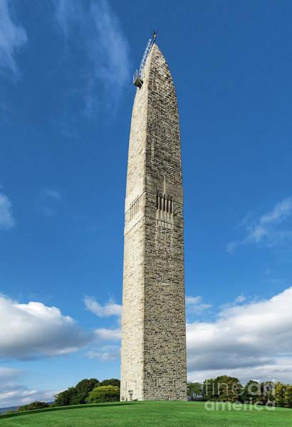 Wall Art - Photograph - Bennington Battle Monumen by John Greim